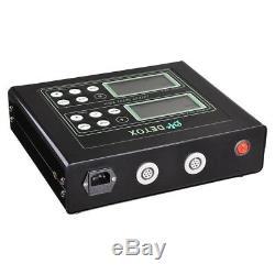 Double Utilisateur Bain De Pieds Machine Ionique Detox Spa Cellulaire Cleanse Machine Tool LCD