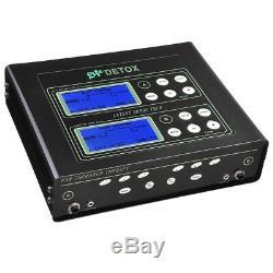 Double Utilisateur Bain De Pieds Machine Pieds Ionique Spa Cellulaire Cleanse Detox Machine LCD Santé