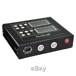 Double Utilisateur Bain De Pieds Spa Ionique Machine De Soins De Santé Detox LCD Cellulaire Nettoyer La Machine