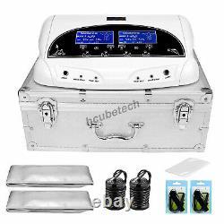 Double Utilisateur De Bain De Pied Spa Machine Couleur LCD Ionique De Nettoyage De Cellule Detox