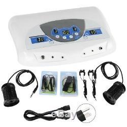 Double Utilisateur Detox Ionique Bain De Pieds Spa Footbath Machine Cellulaires Cleanse Tableaux Mp3