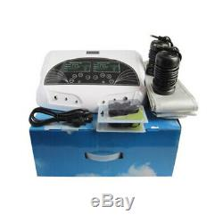 Double Utilisateur Ionique Detox Ion Cellulaire Aqua Spa Bain De Pieds Chi Nettoyer La Machine De Sapin Ceinture