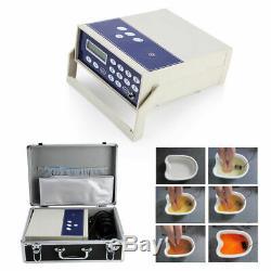 Double Utilisateur Ionique Detox Spa Bain De Pieds Nettoyer La Machine Cellulaire Ion Tableau Accueil Utilisation