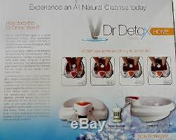 Dr Detox Ion Detox Spa Nettoyant Nettoyant Detox Suppléments Supplémentaires Garantie De 1 An