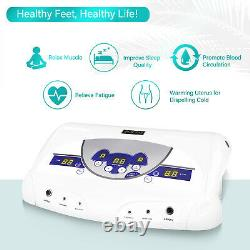 Dual Ionic Detox Detox De La Cellule De Bain Nettoyant Spa Tub Soins De Santé Avec 6 Arrays