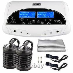 Dual Ionic Detox Foot Bath Spa Heath Care Machine Kit Cell Cleanse LCD Display