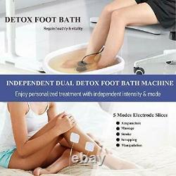 Dual User Foot Baignoire Spa Machine Innocleanse Detox Foot Spa Dual Detox Klair