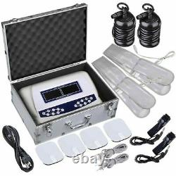 Dual User Foot Bath Spa Machine Coloré LCD Ionic Detox Cell Cleanse Machine
