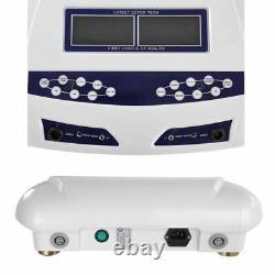 Dual User Foot Bath Spa Machine Coloré LCD Ionic Detox Cell Cleanse Machine Us