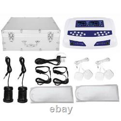 Dual User Ion Foot Bath Spa Array Ionic Detox Cell Cleanse Machine Colored LCD