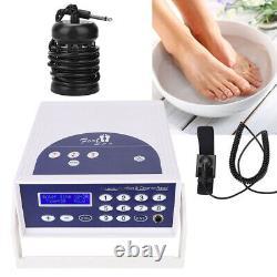 Dual User Ionic Detox Foot Baignoire Spa Machine De Nettoyage De Cellules Système Livraison Gratuite