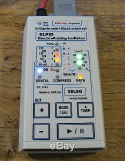 Elpid Electro-pulse Ion Detox Machine De Guérison Intégrative Bain De Siège Aqua Foot