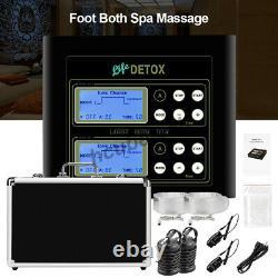 Energizer Detox Foot Spa Machine Ionique Detox Foot Baignoire Chi Nettoyer Bracelets