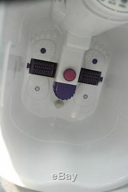 Foot & Leg Spa Bain De Massage Motorisé Roulant Massage Chaleur O2 Bubble Fbd2535