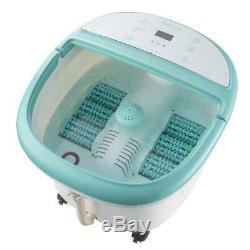 Foot Spa Bain À Bulles Massage Réglable Chauffage Pieds Écran LCD Tremper Baignoire