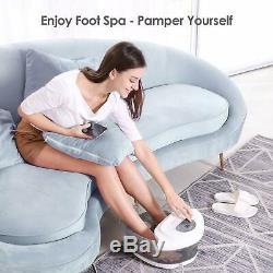 Foot Spa / Bain À Remous Avec Chaleur Bulles Vibration, Pieds Fatigués Accueil Stress Relief