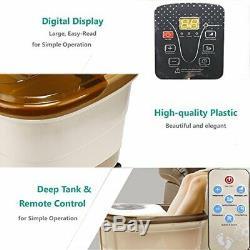 Foot Spa Bain De Massage Avec La Chaleur Et L'eau Jet Électrique Pédicure Salon