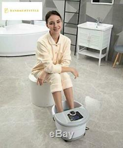 Foot Spa Bain De Massage Avec La Chaleur Et La Machine Automatique Massage Des Pieds Pédicure Spa