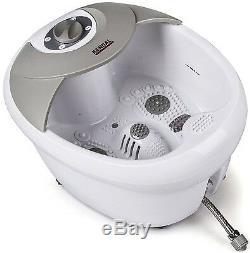 Foot Spa Bain De Massage Chaleur Vibration Pieds Infrarouges Massage Therapy Pédicure Spa