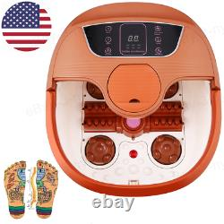 Foot Spa Bath Massager Automatic Rollers Heating Soaker Bucket 500w 3 Types