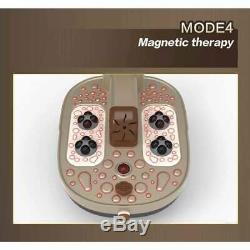 Foot Spa Massager Chauffée Surf Thérapie De Roulement Massage Pédicure Tremper Bain 3d