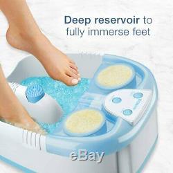 Foot Spa Pédicure Bain D'eau Chaude Bain De Massage Tremper Pieds Relaxer Chaleur Chaleur Cascade