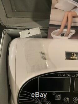 Healcity F12-1 Ionique Detox Spa Bain De La Machine Cellulaire Système De Nettoyage