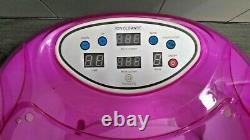 Healcity Ionic Detox De Bain De Pied Spa Machine Plus De Contrôle De Panneau, Tuyau De Massage 2 Arr
