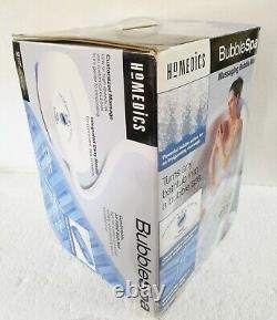 Homedics Bubble Spa Bmat-1 Massage Bubble Bath Mat Avec Chaleur