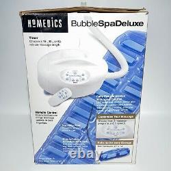 Homedics Bubble Spa Deluxe Bmat-2 Massant Baignoire Bubble Mat Avec Chaleur Et Télécommande
