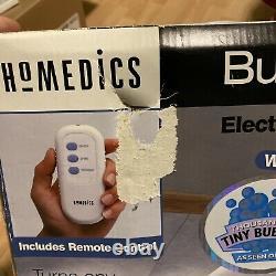 Homedics Bubble Spa Plus Electronique Massant Baignoire Mat W Remote New In Box Htf