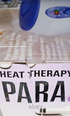 Homedics Paraspa Deluxe Par-250 Paraffine Thermothérapie Wax Bath Spa