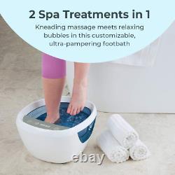 Homedics Shiatsu Bliss Bain De Pied Avec La Chaleur Boost Massager De Spa De Pied Kneading Profond