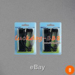 Hot Double LCD Mp3 Utilisateur Ionique Ion Ion Detox Spa Aqua Bains De Pieds + 2 Ensembles Cleans