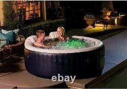 Intex Purespa Plus 6,4 Diamètre Du Pied 4-6 Personnes Portable Gonflable Hot Tub Spa