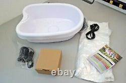 Ion Ionic Detox Foot Bath Cleanse Spa Machine With Tub 10 Tub Liners (18d)