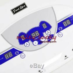 Ion Ionique Cellulaire Detox Spa Bain De Machine À Double Mode Utilisateur LCD Mp3 Lecteur De Musique