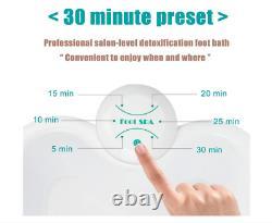 Ionic Detox Foot Basin Baignoire Spa Cleanse Machine Avec Arrays Liners Soins De Santé