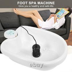 Ionic Detox Foot Basin Spa Cleanse Machine Array Detix Relief Spa Machine