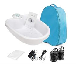 Ionic Detox Foot Bath Cleanse Spa, Ion Detox Kit, Ion Detox Machine With Tub, Array