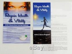 Ionic Detox Ionic Spa Bath Unité De Nettoyage Chi Pour Utilisation À Domicile. Detox Foot Spa