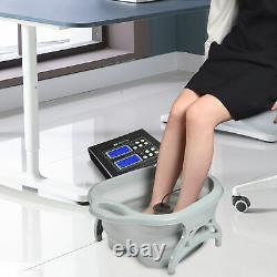 Ionic Detox Pied Spa Machine Pliant Tub Kit Avec Des Rayons Ceintures Infrarouges Lointaine Maison