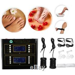 Ionique Bain De Pieds Detox Machine Spa Foot Massage Du Corps Stress Relief 2 Personne Utilisation