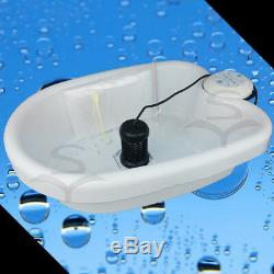 Ionique Detox Bain De Pieds Nettoyer La Machine Spa Avec 2 Baies Bain Pour Les Soins De Santé 25w