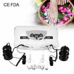 Ionique Detox Foot Spa Machine Appareil De Bain De Pied Machine À Double Usage Au Plug 220v