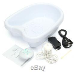Ionique Detox Ion Pieds Bassin Spa Bain De Massage Nettoyer La Machine Set + Thérapie Bain