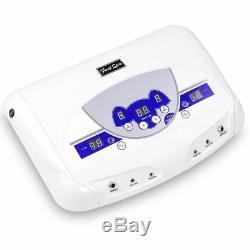 Ionique Double Cellule Detox Spa Bain De Machine Accueil Relax LCD Avec Lecteur Mp3
