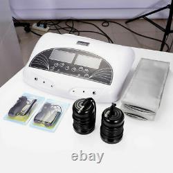 Ionique Ion Detox De Bain De Pied Spa Massager Machine Double User Cell Cleanse Machine