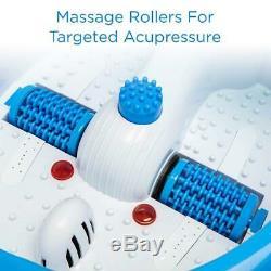Ivation Foot Spa Massager Chauffée Bain, Rouleaux De Massage Automatique