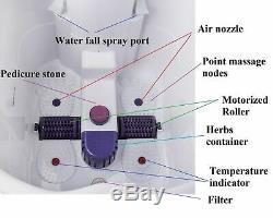 Kendal Fbd2535 Masseur De Bain Profond Pour Pieds Et Jambes Avec Télécommande